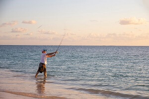 Fishing in South Caicos